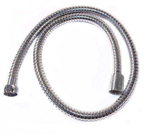 Tubo Flessibile Doccia, Flessibile Doccia - 1m argento