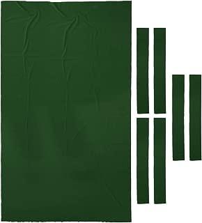 SaniMomo Mantel de Fieltro para Mesa de Billar 2,74 m, 0,9 mm de Grosor