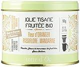 Terre d'Oc Tisane Fruitée Fleur d'Oranger Mandarine Passiflore Bio 90 g