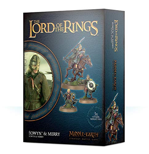Middle Earth Strategy Battle Game: Éowyn & Merry