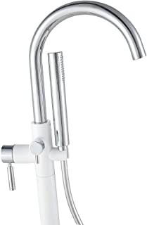 Ove Decors Athena Freestanding Bath Faucet for any Freestanding Bathtub, Chrome