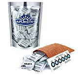 Lapurete 's ® 5 Gramm 50 Stück Silicagel Pakete Trockenmittel Luftentfeuchter (regenerierbar)