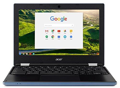 Acer Chromebook 11 CB3-131-C76R 2.16GHz N2840 Intel Celeron 11.6' 1366 x 768Pixel Nero, Blu Chromebook
