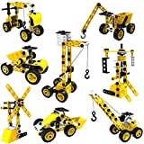 STEM Toys Kids Building Toys – 100 Piece 8-in-1 DIY...