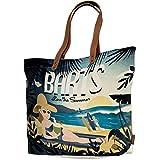 Barts Hampton, Damen Strandtasche, Mehrfarbig (Fantasia Spiaggia), 39 cm
