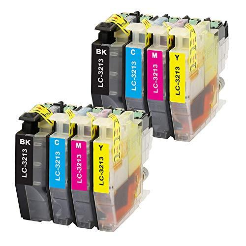 Teland - Cartucho de tinta compatible con Brother LC-3213 LC-3211 para DCP-J774DW MFC-J895DW MFC-J491DW MFC-J497DW DCP-J572DW DCP-J772DW MFC-J890DW