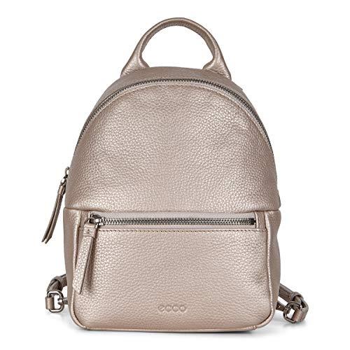 ECCO Damen SP 3 Mini Backpack Rucksack, Grau Rose Metallic, Einheitsgröße