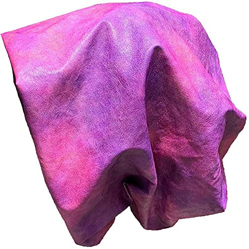 Women's Lightweight Rain Hat, PU Leather Waterproof Packable Rain Bonnet Cap for Voluminous and Long Hair