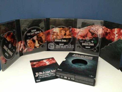 Pack Parque Jurasico Trilogia DVD