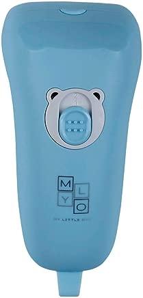 MyLO Electric Nail Clipper Safe for Infant Baby Kids, Night Light, UV Sterilizer, 1 year warranty, Baby Blue