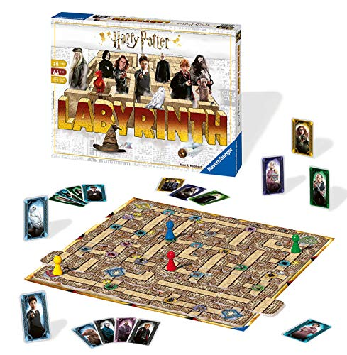 Ravensburger Harry Potter Labyrinth Family Board Game for Kids & Adults Age 7 & Up - So Easy to...