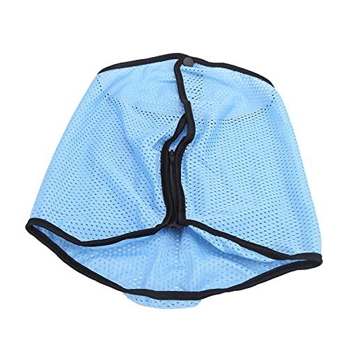 Bnineteenteam Cubierta para la Cabeza con Velo, Sombrero para el Sol Ajustable al Aire Libre, Pantalla Facial de protección multifunción para Pescar