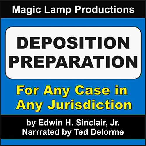 Deposition Preparation audiobook cover art