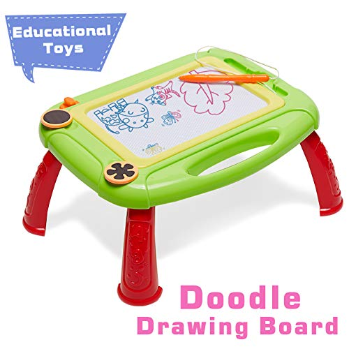 HahaGift Toddler Toys for 3 1 2 Year Old Boy Gifts Age 3 2, Magnetic Magna Doodle Drawing Board, Birthday Gift for 3 1 2 Year Old Boy Toys Age 1 2 3, Birthday Present for 2-5 Year Old Toddlers Babies