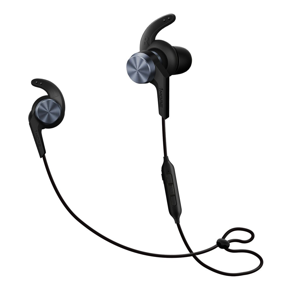 Amazon Com 1more Ibfree In Ear Earphones Wireless Sport Headphones Bluetooth Csr Ipx 4 Waterproof Secure Fit In Line Remote Gym Running Workout Space Gray Electronics