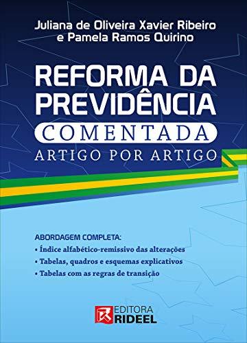 Reforma Da Previdência Comentada Artigo Por Artigo