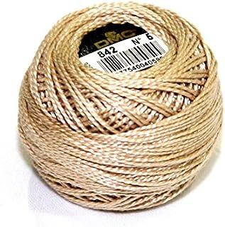 DMC Cotton Perle Thread Size 5 842 - per 10 gram ball
