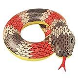 Sunbobo Forma flotante de la serpiente del flotador del tubo asiento del flotador de la piscina del anillo de la natación del PVC para los niños adultos Muchachas de los muchachos de los muchachos