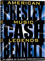 American Music Legends: Presley & Cash & Bennett [DVD] [Import]