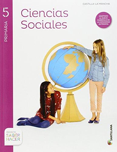 CIENCIAS SOCIALES + ATLAS CASTILLA LA MANCHA 5 PRIMARIA SANTILLANA - 9788468030760