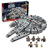 1381 piezas Technic Millennium Falcon Star Wars serie MOC Clamp Building Blocks Set compatible con Lego, Star Wars series Set de construcción A