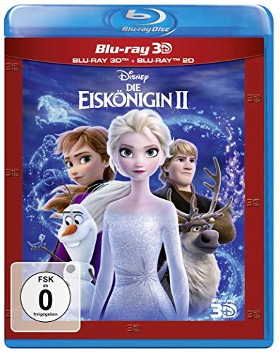 Produktbild von Die Eiskönigin 2 (3D Blu-ray)