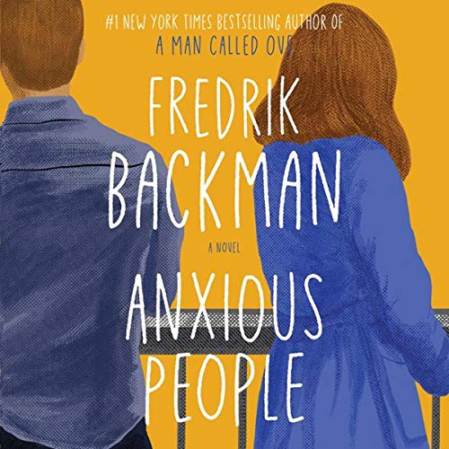 Anxious People audiobook cover art