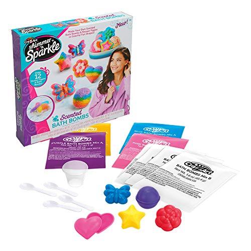 Cra-Z-Art - Shimmer N' Sparkle bombas de jabón perfumadas (44798) , color/modelo surtido