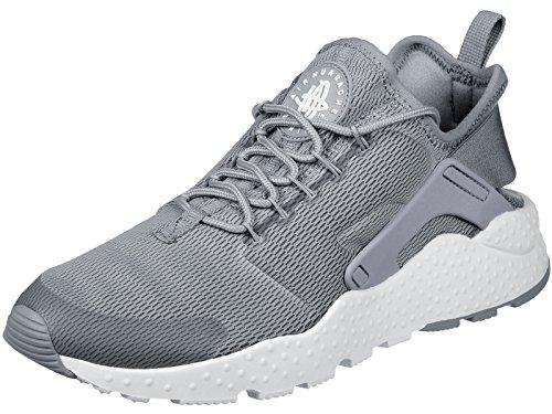 Nike Damen W Air Huarache Run Ultra Turnschuhe, Gris (Stealth/White), 36.5 EU
