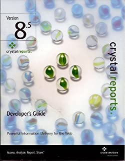 crystal reports 8.5 developer
