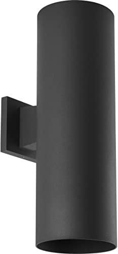 high quality Progress outlet sale Lighting P5642-31 Cylinder Outdoor, 6-Inch Width discount x 18-Inch Height, Black sale