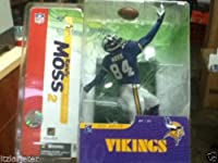 NFL Re-Plays Series 3 Figure - Vikings #84 Randy Moss