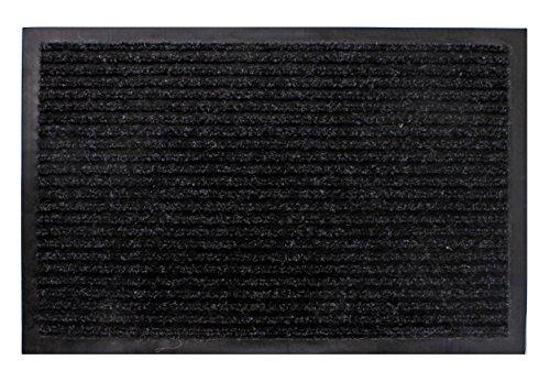 Spetebo Schmutzfangmatte schwarz - 80 cm x 120 cm - Fußmatte Fußabtreter Türmatte Außen