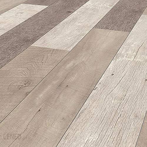 Laminatboden TRECOR® 8 mm Stark, Laminat mit umlaufender Fase, Klicksystem, Nutzungsklasse AC4/32 - Auch für Fußbodenheizung geeignet - Sie kaufen 1 m² (Laminatboden | 1 m², Weathered Barnwood)