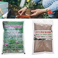 アクアティックポンド土壌天然の蓮の池コンポストポッティング土壌水ユリ土壌植物成長するメディア植物種子栽培用品アクアティック屋内および屋外コンテナ、200g x 2パック
