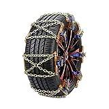 Camión de acero del coche universal Ruedas Neumático Neumático de nieve Cadenas de hielo Cinturón invierno antideslizante Vehículos rueda de cadena de barro del camino seguro Cadenas De Nieve Para Coc