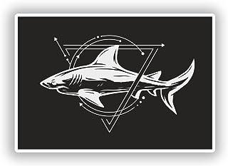 2?x Sharkビニールステッカー