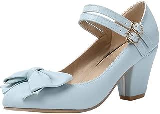 Zanpa Women Fashion Summer Shoes Block Heels