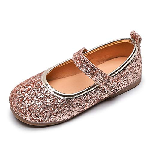 Zapatos de Vestir para niñas niños Princesa Suela Suave Transpirable Fiesta de...