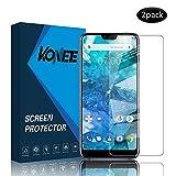 KONEE Panzerglas Schutzfolie für Nokia 7.1, 【2 Stück 】 HD Klar Bildschirmschutzfolie [ 9H-Festigkeit, Anti-Kratzer, Blasenfrei, Anti-Fingerabdruck ] Panzerglasfolie für Nokia 7.1