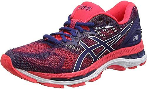 Asics Gel-Nimbus 20, Zapatillas de Entrenamiento Mujer, Azul (Blue Print/Blue Print 400), 36 EU