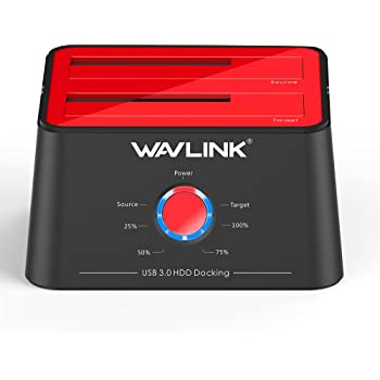 WAVLINK Base de Conexión Docking Station USB 3.0 a SATA Disco Duro ...
