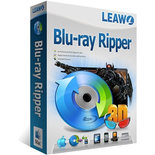 Leawo Blu-Ray Ripper MAC Vollversion (Product Keycard ohne Datenträger) - Lebenslange Lizenz