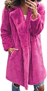 Best faux fur open front fuzzy coat Reviews