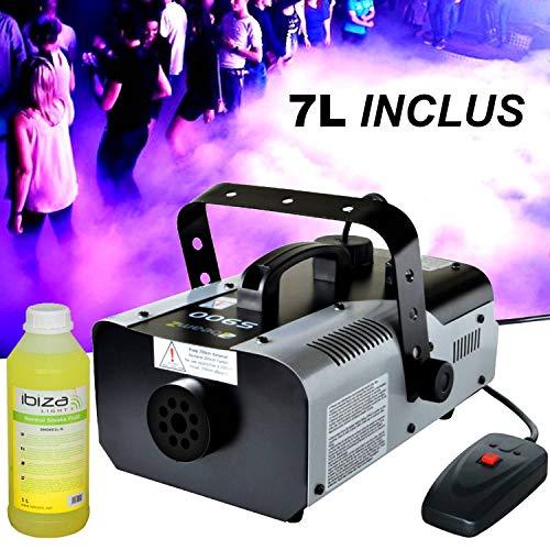 Beamz S900 Maschine Rauch + 7L enthalten flüssige