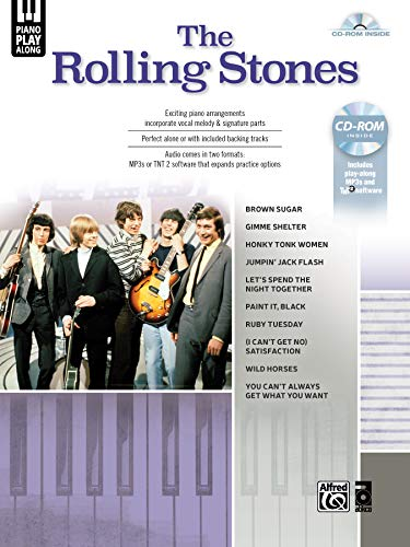 Piano Play-Along: The Rolling Stones: (incl. CD-ROM) (Alfred's Piano Play-along)