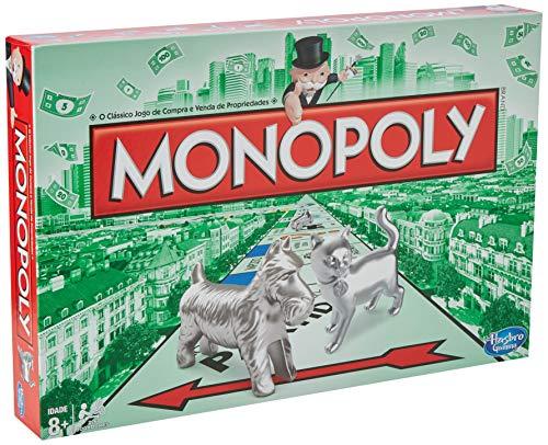 Monopoly Hasbro Gaming - Juego de Mesa Clásico (00009521) (versión Portuguesa)