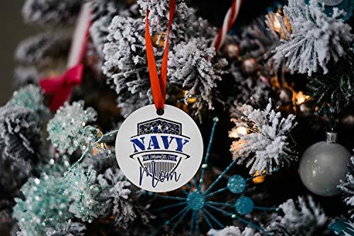Lplpol Navy Mom Military Remembrance 2020 - Ornamento natalizio