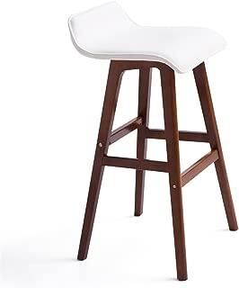 NMDB FurnitureR Set Bar Chaise Moderne Tabourets Bar Comptoir Chaise Cuisine Petit-dejeuner Tabouret avec Pieds Bois