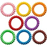 Sensory Bracelets for Boys and Girls with Autism, ADHD, SPD –Stretchy Coil Bracelets for Kids with Anxiety & Special Needs (8 Pack)